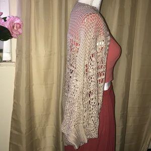 Love maker Crochet Shrug